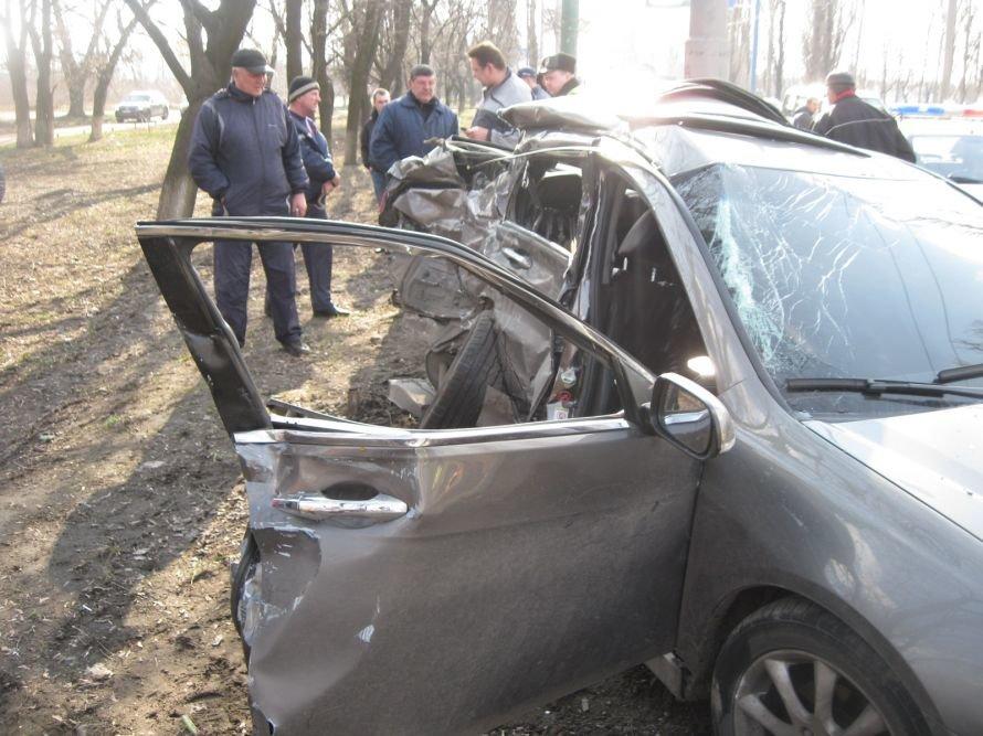 В Макеевке на встречной полосе столкнулись «Хонда Аккорд» и «Мерседес» (фото), фото-2