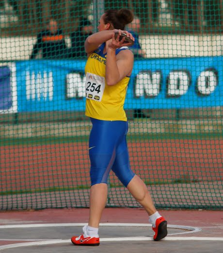 Артемовская спортсменка стала бронзовым призером на Чемпионатах Европы и мира по метанию диска, фото-1