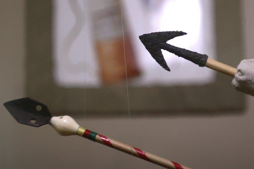 В Донецке показывают стрелы, которые летали еще полторы тысячи лет назад (фото), фото-1