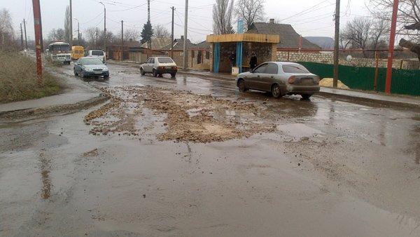 Горловские чиновники опробуют новые технологии в ремонте дорог, фото-9