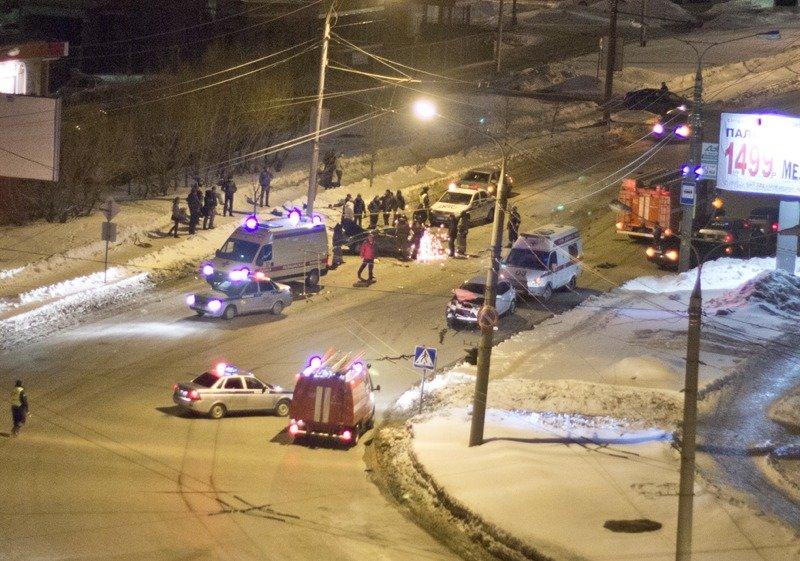 Трое погибли, трое ранены в ДТП в Чебоксарах (ФОТО, ВИДЕО), фото-1