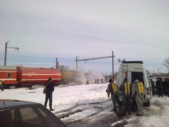 авария на жд Здолбунова