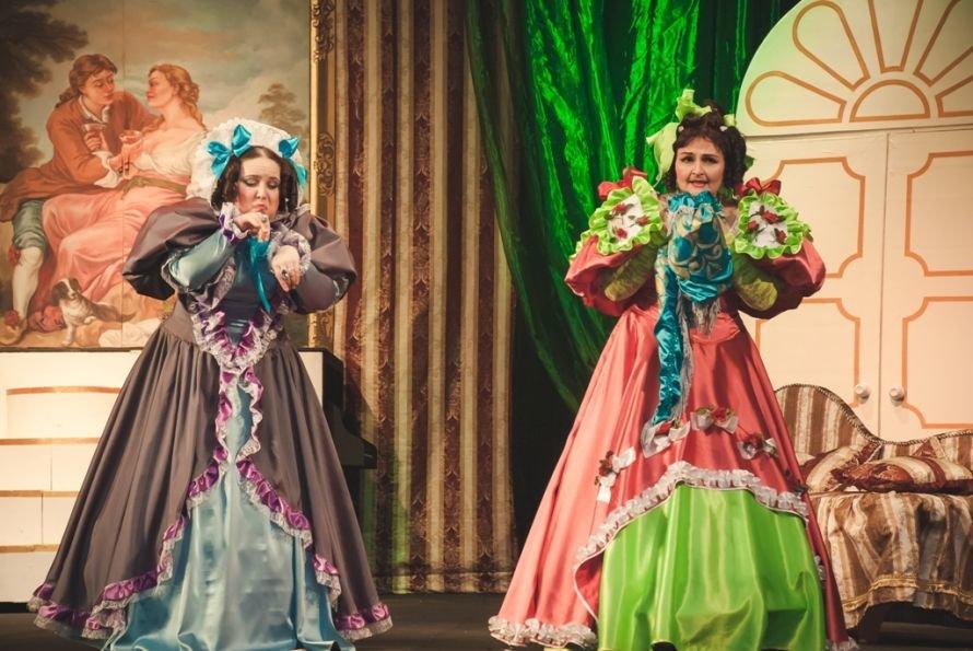 В Кривом Роге состоялась премьера спектакля «Голубая турецкая шаль» (ФОТО), фото-6
