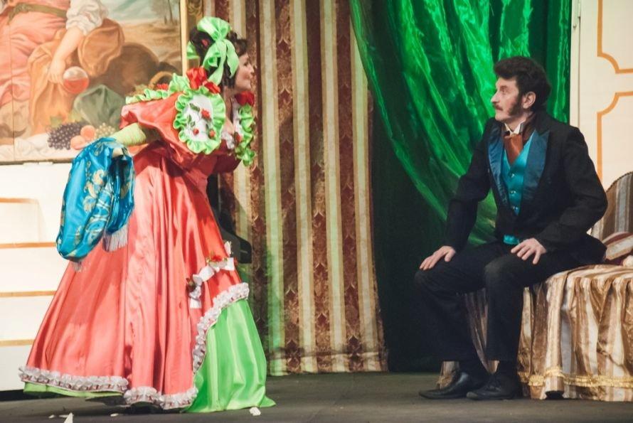 В Кривом Роге состоялась премьера спектакля «Голубая турецкая шаль» (ФОТО), фото-5