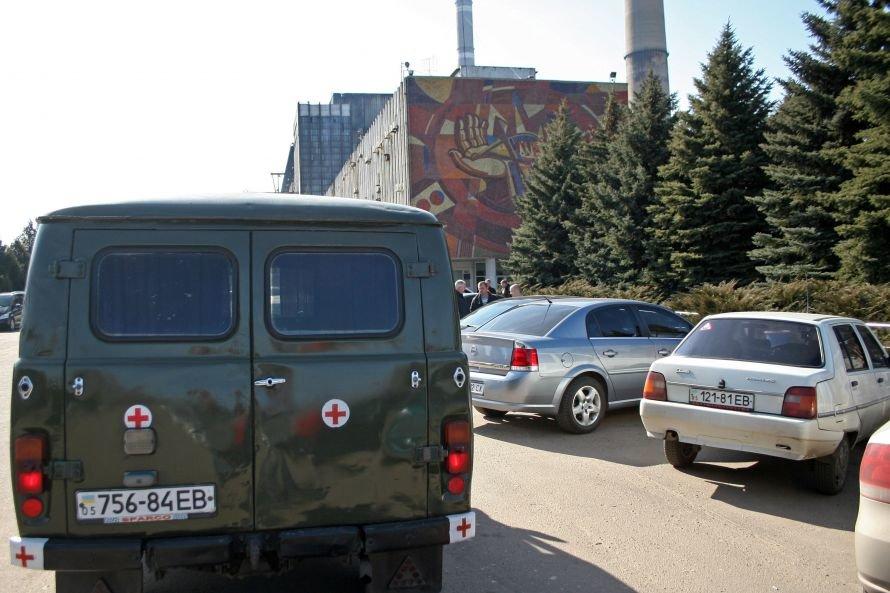 Работы по восстановлению, уничтоженной пожаром Углегорской ТЭС, будут вестись круглосуточно (фото, видео), фото-7