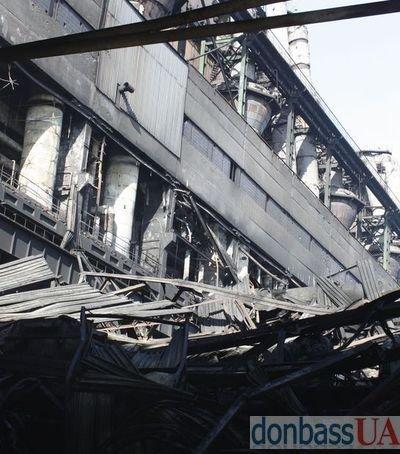 Углегорская ТЭС: через сутки после пожара (Фото), фото-1