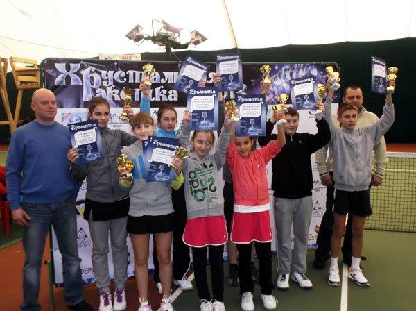 В Мариуполе теннисистка из Донецка одержала тройную победу на «Хрустальной ракетке» (ФОТО), фото-1