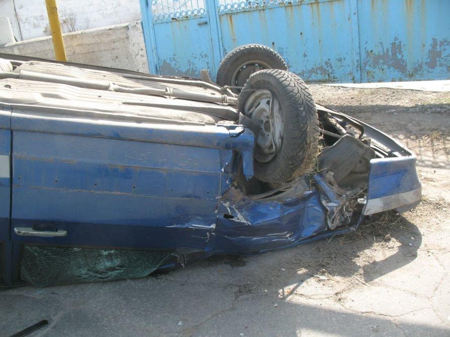 В Днепропетровске в День смеха 3 авто превратились в груду металла (ФОТО), фото-1