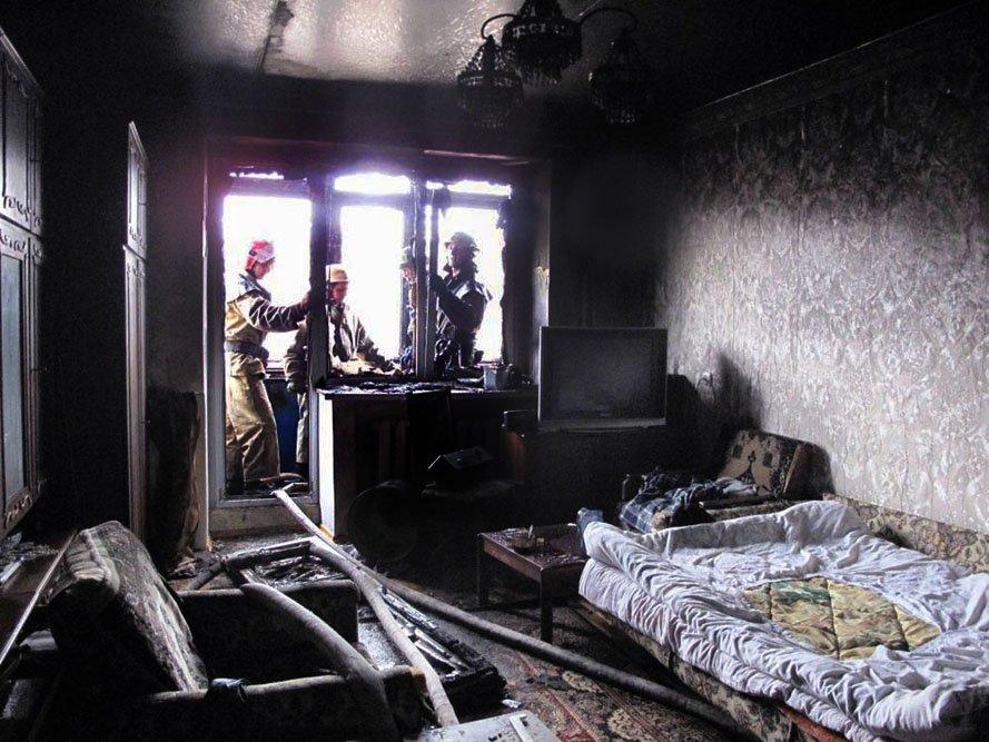 В Запорожье в пятиэтажке загорелся балкон (ФОТО), фото-3