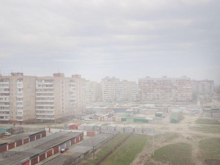 ФОТОФАКТ: Над Запорожьем парит вонючий «туман», фото-1
