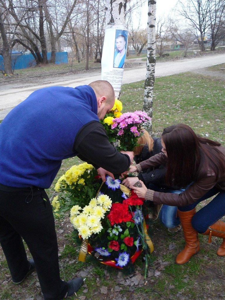 Светофор на месте гибели студента-медика в Днепропетровске так и не установили (ФОТО), фото-2