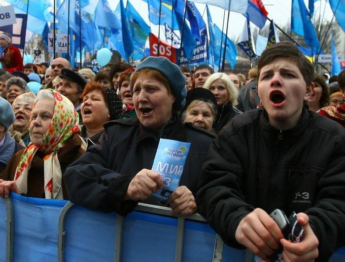 3 апреля, как это было — в Донецке «победили» НАТО (фото), фото-2