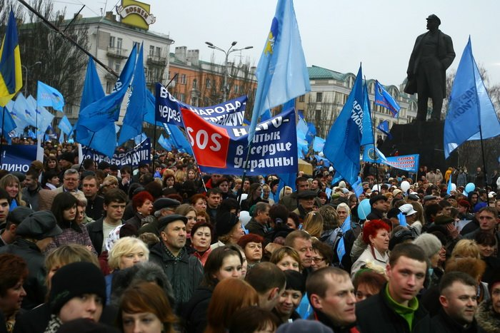 3 апреля, как это было — в Донецке «победили» НАТО (фото), фото-5