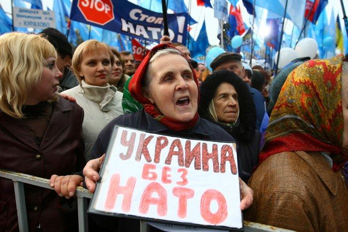 3 апреля, как это было — в Донецке «победили» НАТО (фото), фото-4