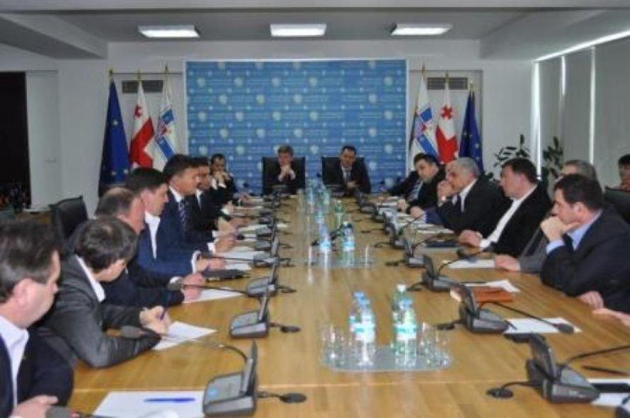 Встреча с мэром Тбилиси Георгием Угулавой открыла для делегации николаевцев еще одну грань Грузии (ФОТО), фото-2