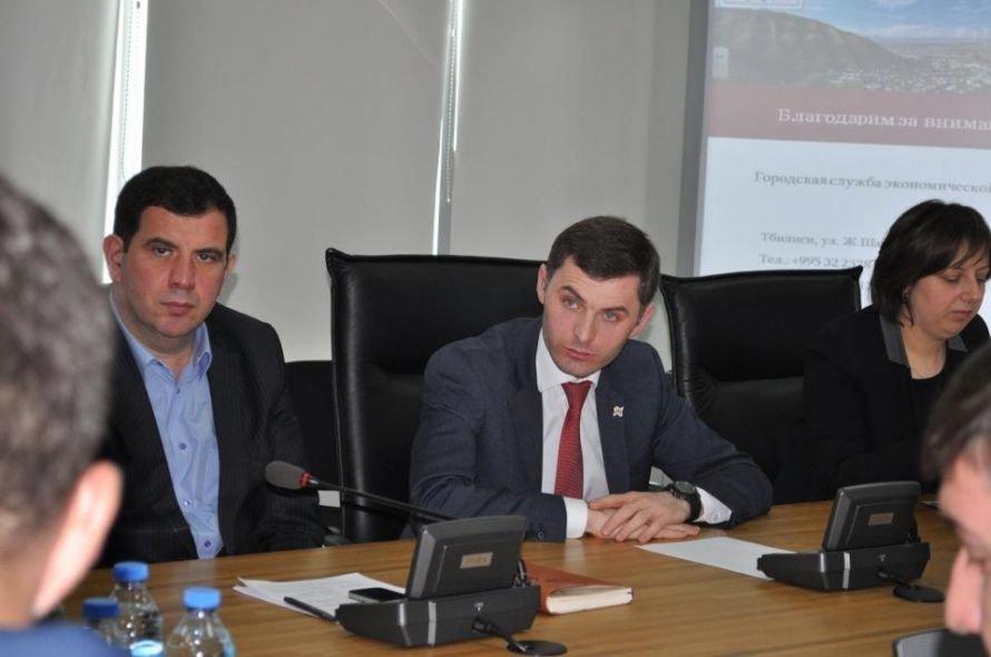 Встреча с мэром Тбилиси Георгием Угулавой открыла для делегации николаевцев еще одну грань Грузии (ФОТО), фото-1