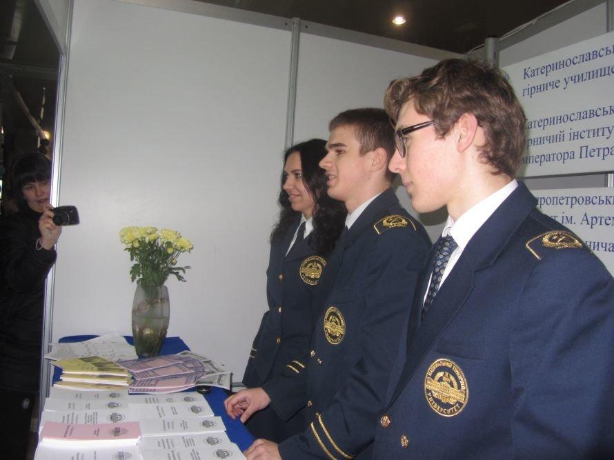 На выставке «Образование. Карьера. Общество» молодым днепропетровцам рассказали о ВУЗах и ПТУ (ФОТОРЕПОРТАЖ), фото-6