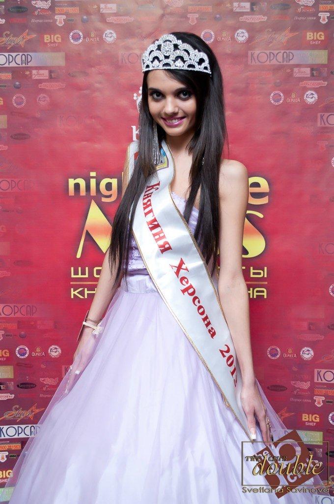 Долгожданный финал конкурса красоты «Miss-Night Life - Княгиня Херсона 2013» в The Double Club (фото) - фото 2