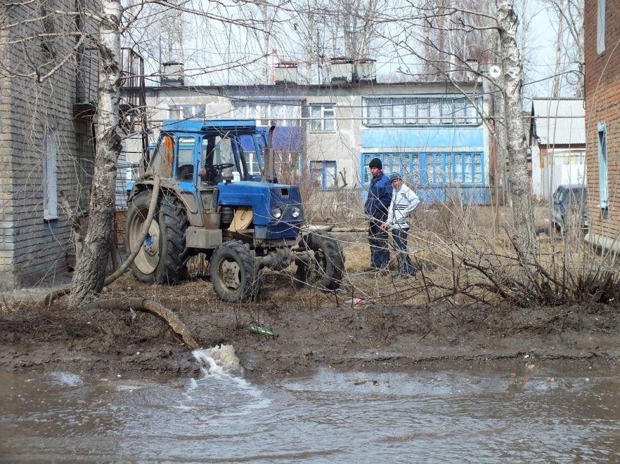 Снова подтопило дома в Ульяновской области, фото-1