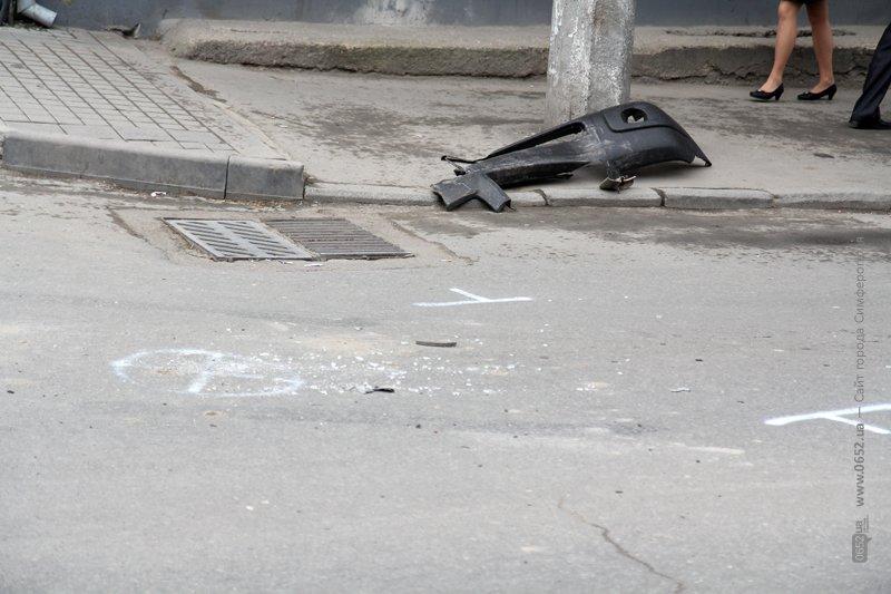 ФОТОФАКТ: Двойное ДТП в центре Симферополя, фото-1