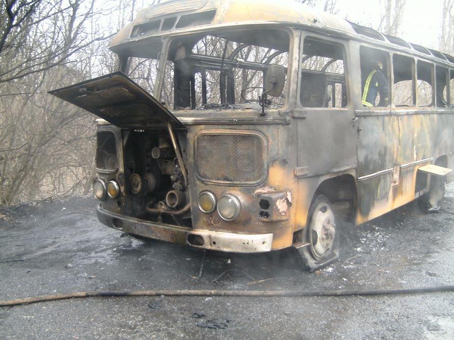 В Кировоградской области сгорел пассажирский автобус (ФОТО) (фото) - фото 1