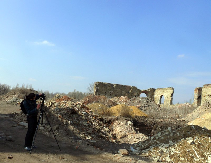 «Патологоанатомы» луганской промышленности, или Как руины завода превращаются в развалины средневекового замка (ФОТО), фото-3