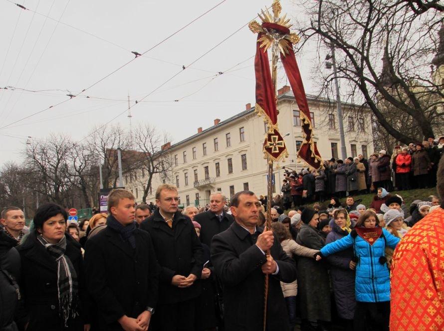 Хресна Дорога у Львові