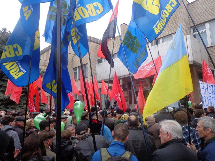 ФОТОРЕПОРТАЖ: 5000 гуляйпольцев митинговали против уранового карьера и «псевдочиновников» (фото) - фото 4