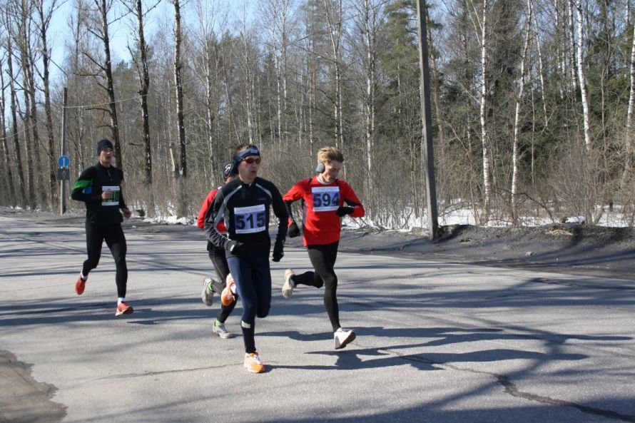 Легкоатлетический пробег в честь победы «Гатчина - Пушкин», фото-1