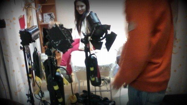 В Мариуполе телеканал ТЕТ снимал сюжет о школьнице с татуировкой, фото-3