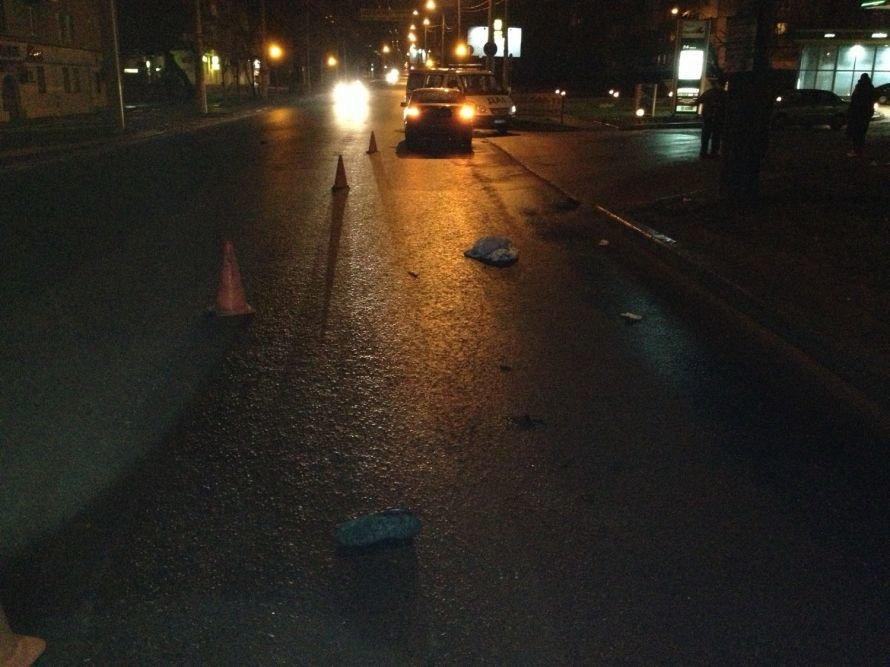 В Донецке «Тойота Камри» сбила пешехода — у пострадавшего перелом основания черепа (фото), фото-1