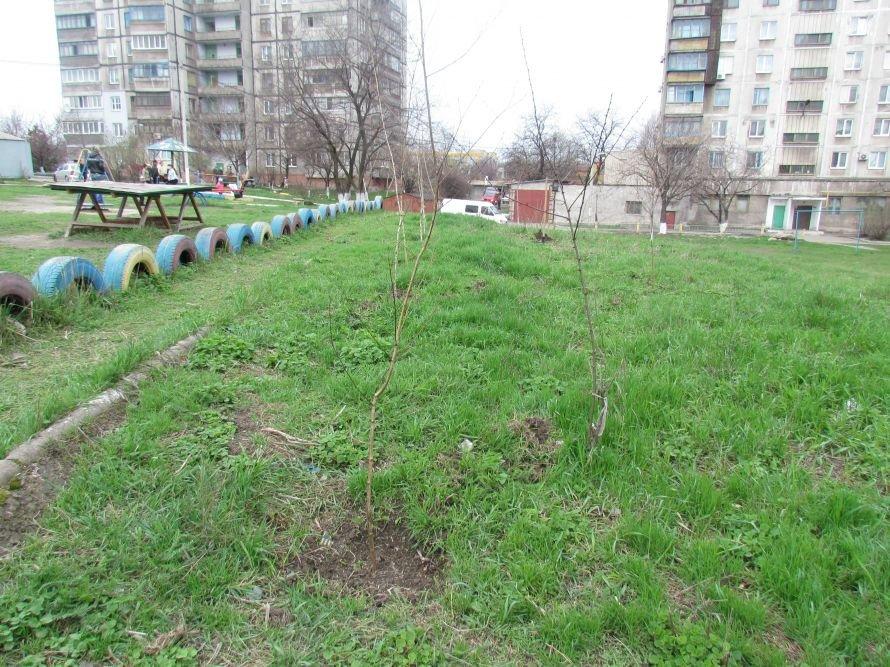 В Мариуполе жители превратили пустырь в детскую площадку (ФОТО), фото-3