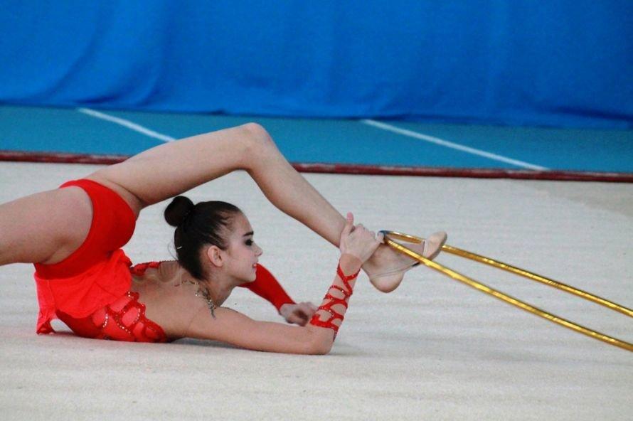 В Артемовске завершился Чемпионат Украины по художественной гимнастике. Абсолютной чемпионкой стала Элеонора Романова (ВИДЕО + ФОТООТЧЕТ), фото-1