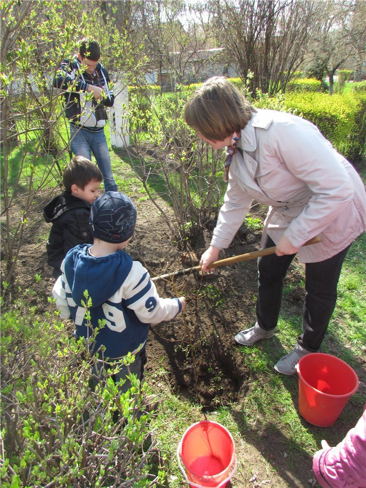 В Мариуполе дети высадили березовую аллею (ФОТО), фото-5