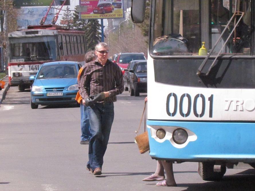 В Мариуполе оборванная троллея остановила движение горэлектротранспорта, маршруток и легковых авто (ФОТО), фото-1
