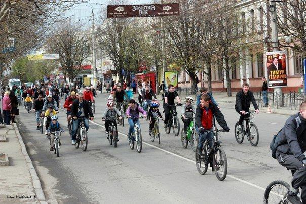 ФОТОРЕПОРТАЖ: В Симферополе открыли велосезон-2013, фото-1