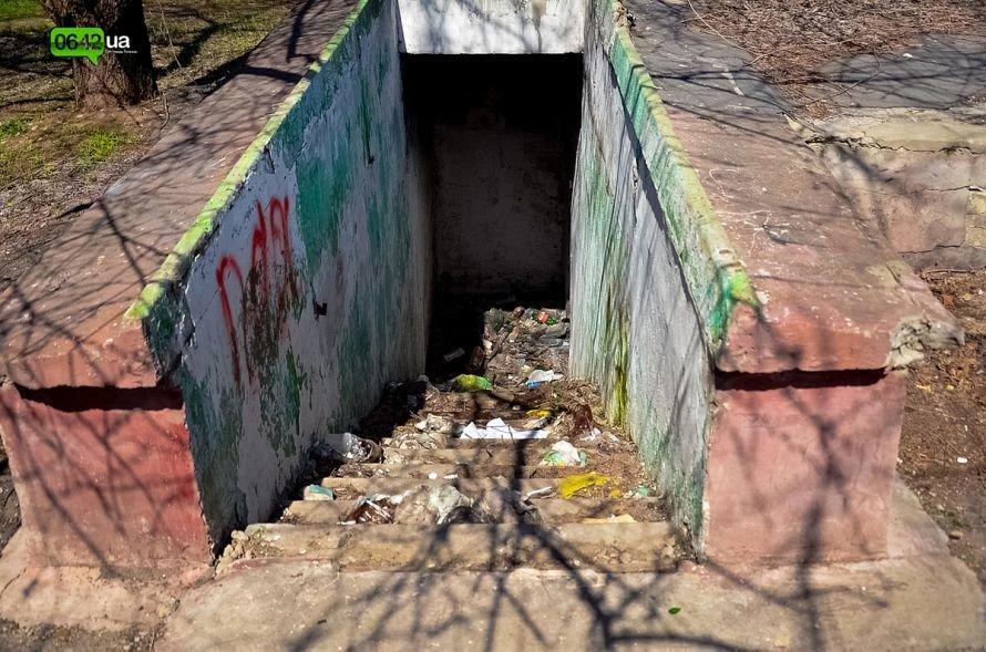 Луганчане помогают коммунальным службам загрязнять парк «Дружба» (ФОТО), фото-13