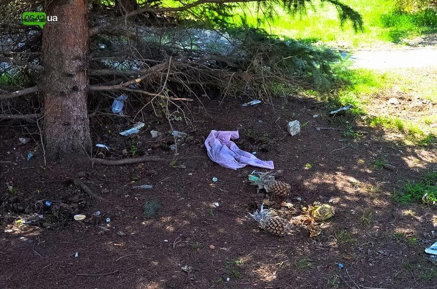 Луганчане помогают коммунальным службам загрязнять парк «Дружба» (ФОТО), фото-3