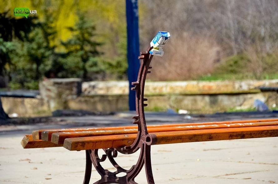 Луганчане помогают коммунальным службам загрязнять парк «Дружба» (ФОТО), фото-8