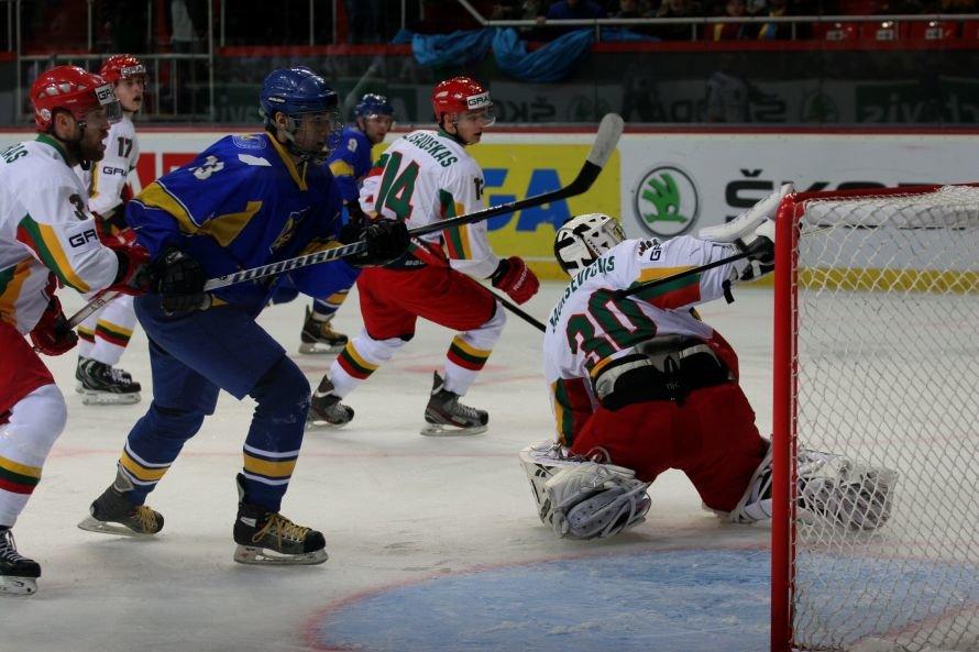 В Донецке украинские хоккеисты разгромили команду из Литвы - третья победа на чемпионате мира (фото), фото-4