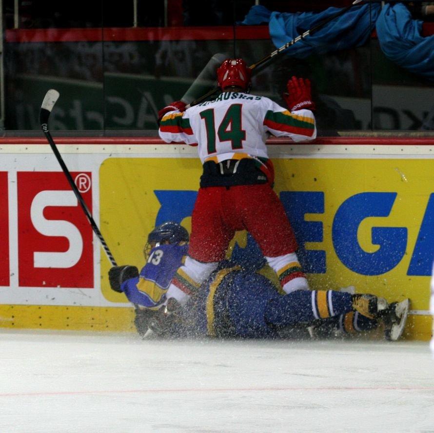 В Донецке украинские хоккеисты разгромили команду из Литвы - третья победа на чемпионате мира (фото), фото-3