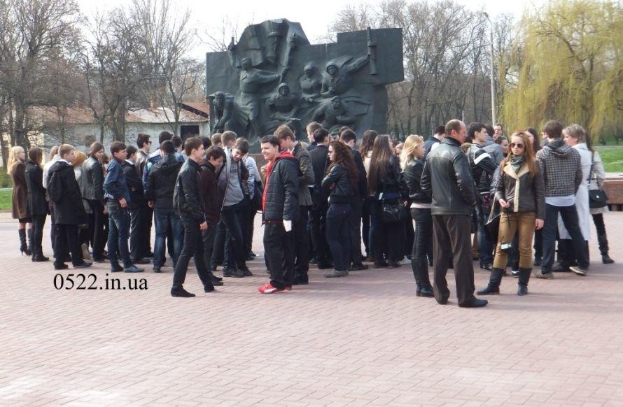 Кировоградских юношей торжественно провели в армию. Фото, фото-1