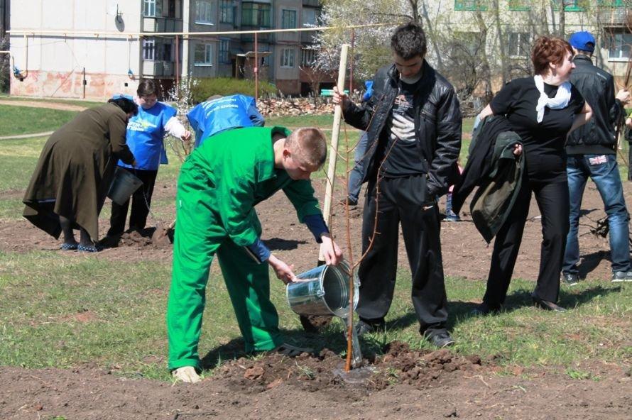 Сергей Клюев принял участие в высадке березовой аллеи в Артемовске (ФОТО), фото-17