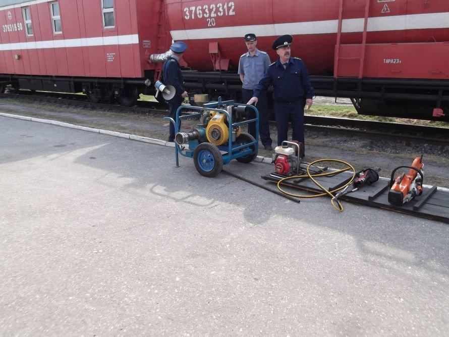 Пожарный поезд ульяновского отряда, фото-1