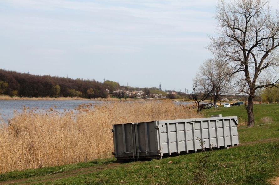 Тысячу пакетов мусора собрали артемовские волонтеры на субботнике возле Северного (ФОТО), фото-11