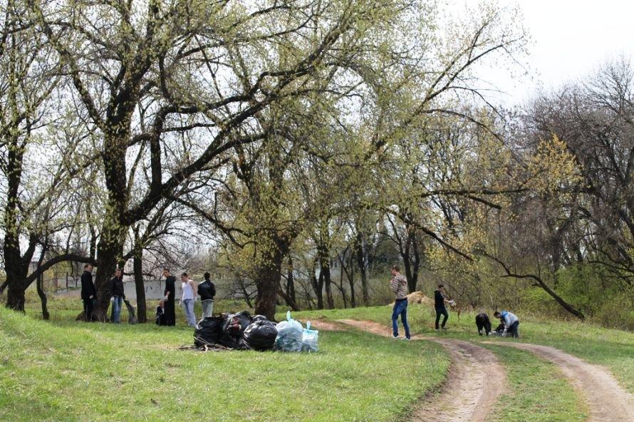 Тысячу пакетов мусора собрали артемовские волонтеры на субботнике возле Северного (ФОТО), фото-10