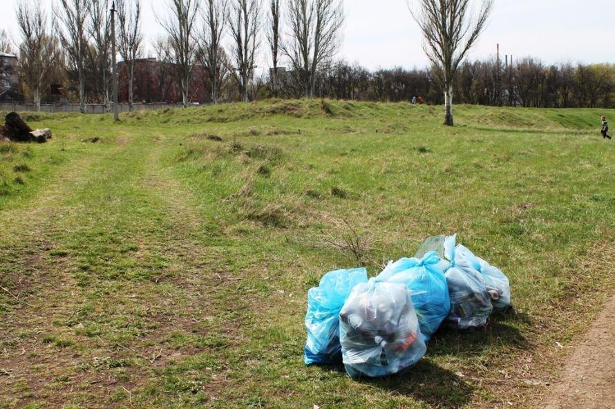Тысячу пакетов мусора собрали артемовские волонтеры на субботнике возле Северного (ФОТО), фото-9
