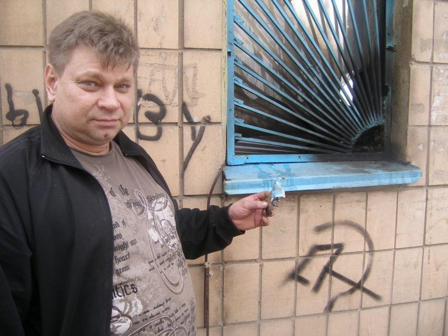 владелец магазина с остатками 'коктейля Молотова'