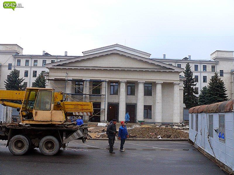В Луганске масштабно ремонтируют здание облгосадминистрации (ФОТО), фото-2
