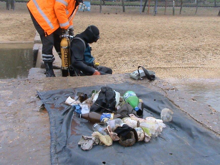 Мариупольские спасатели очищают дно морское (ФОТО), фото-3